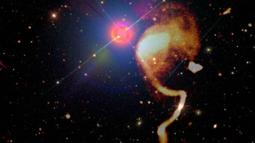 Радиотелескоп запечатлел тысячи галактик ранней Вселенной