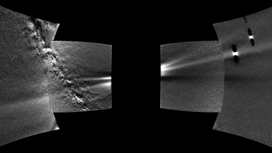 Зонд Parker впервые запечатлел пылевое кольцо Венеры
