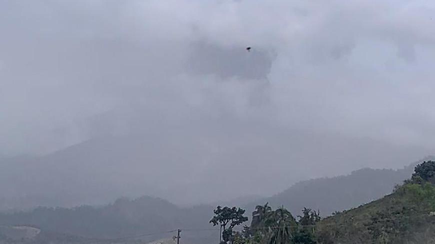 Вулкан Ла Суфриер устроил апокалипсис на острове Сент-Винсент