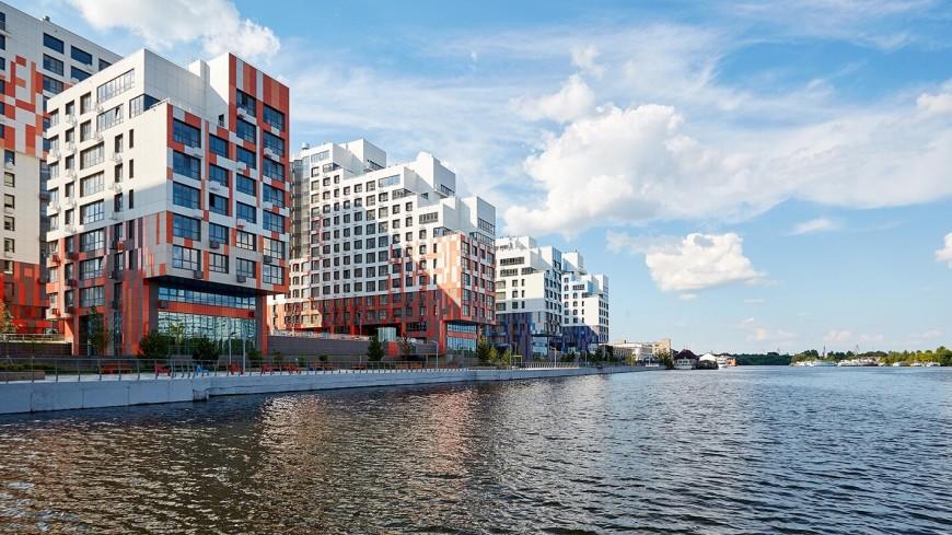 Власти одобрили проект пешеходного моста через старое русло Москвы-реки