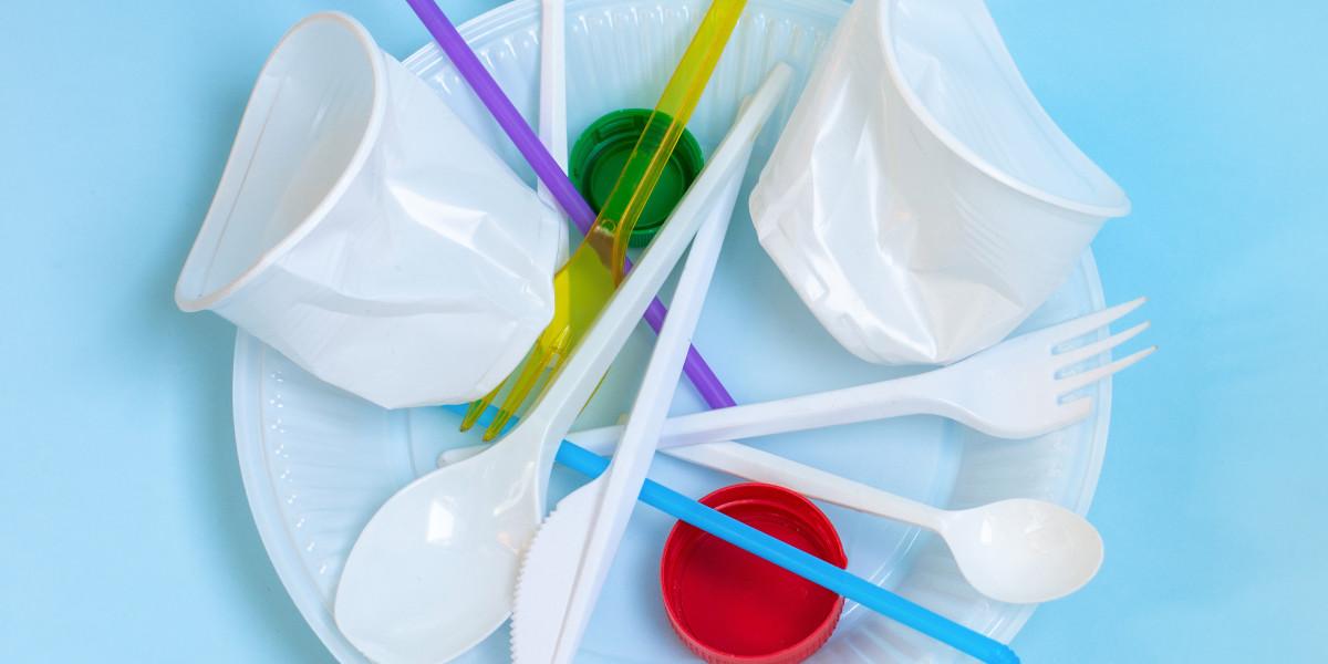 Правительство Великобритании планирует запретить одноразовые пластиковые столовые приборы, а также тарелки и стаканчики из полистирола