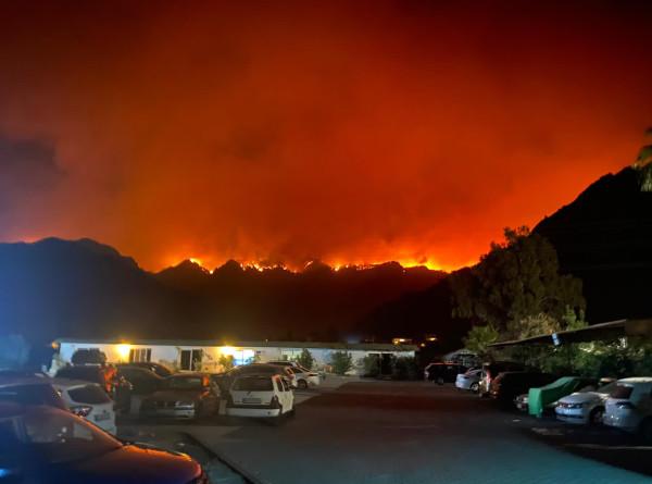 Выжженная земля: пожары угрожают целым поселениям в Европе, Турции и США