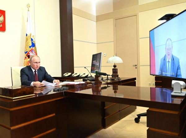 Путин попросил врио главы Пензенской области поддерживать региональные инвестпроекты