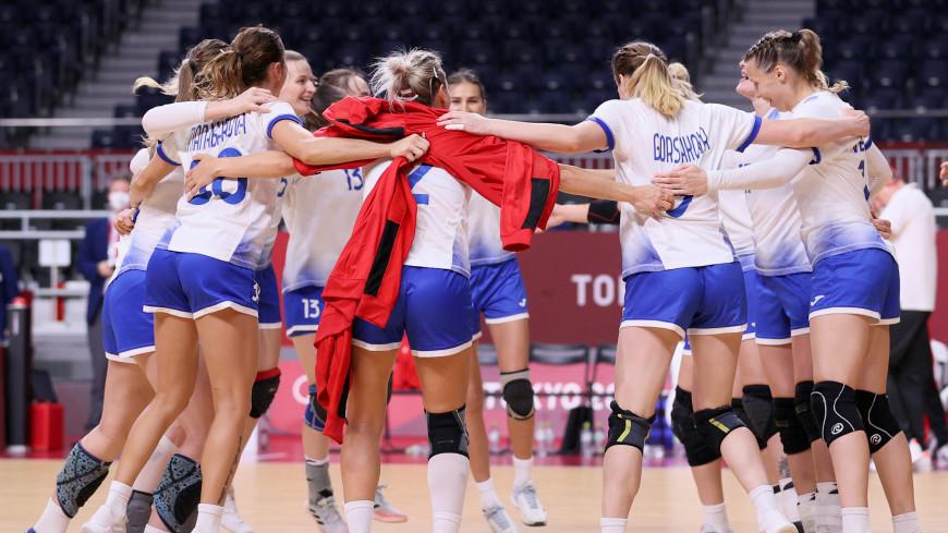 Женская сборная России по гандболу вышла в полуфинал олимпийского турнира