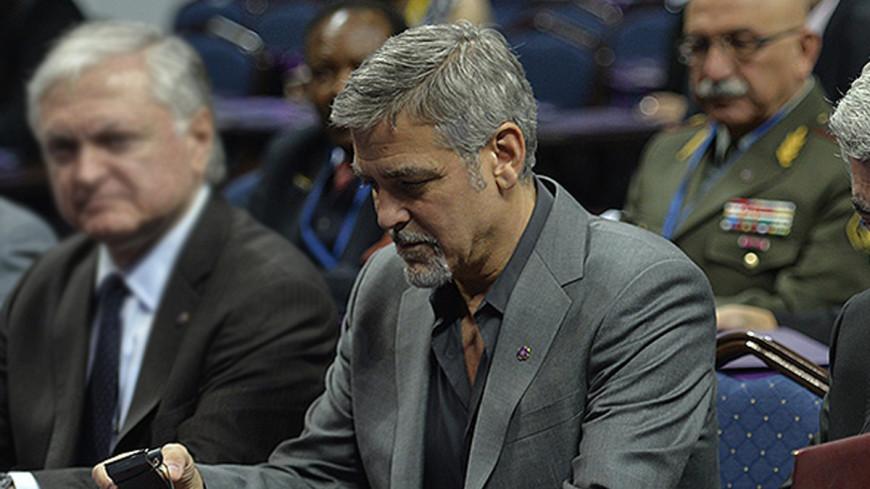 "Фото: ""Сайт президента Армении"":http://www.president.am/ru/, джордж клуни, клуни"