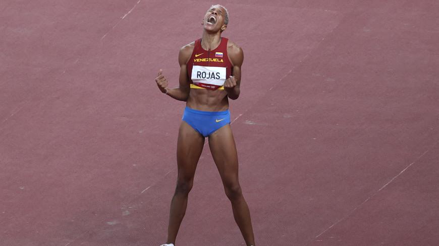 Легкоатлетка из Венесуэлы взяла золото ОИ, установив мировой рекорд