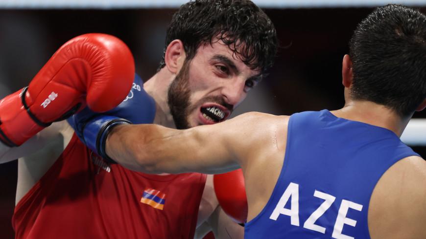 Армянский боксер Бачков вышел в полуфинал Олимпиады
