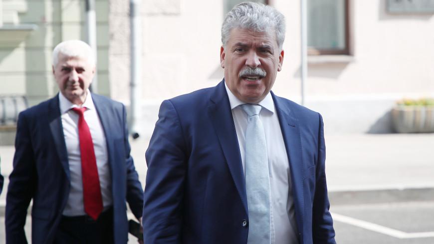 Верховный суд признал законным решение снять Грудинина с выборов