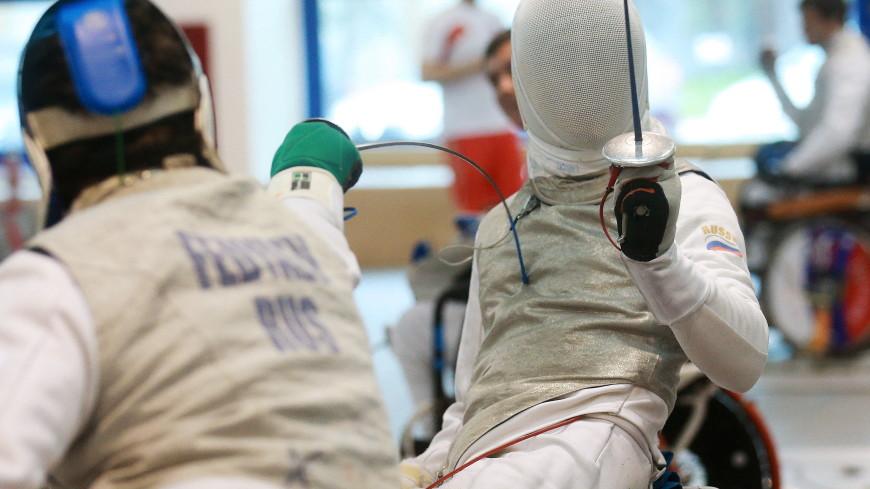 Россиянин Шабуров завоевал серебро на Паралимпиаде в фехтовании на колясках