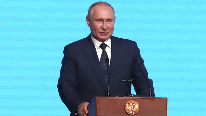 Путин: Рабочий класс в России является политической силой
