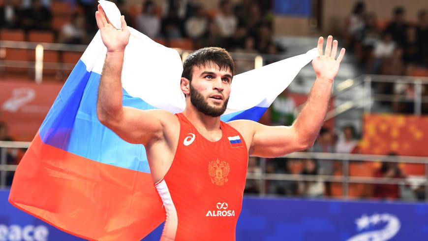 Российский борец Гаджимурад Рашидов пробился в полуфинал Олимпиады в Токио