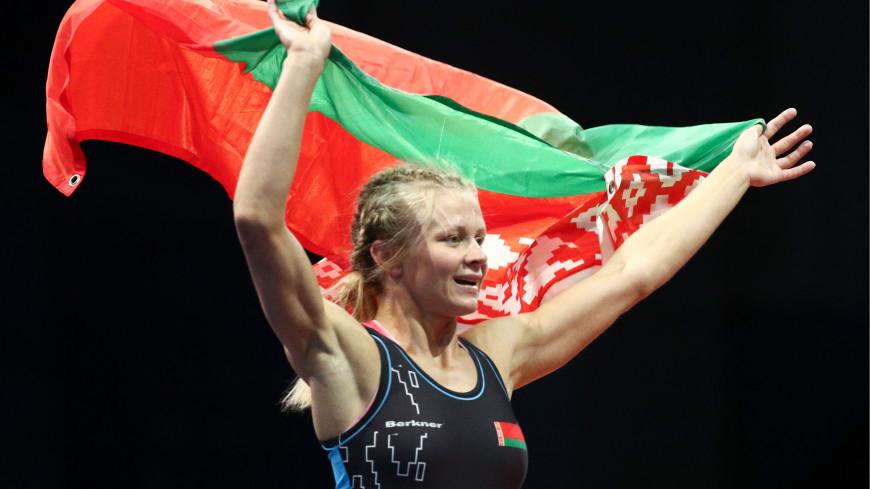 Первое олимпийское серебро: Ирина Курочкина из Беларуси стала второй в турнире по вольной борьбе