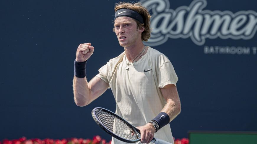 Рублев впервые за карьеру одолел Медведева и вышел в финал турнира в Цинциннати