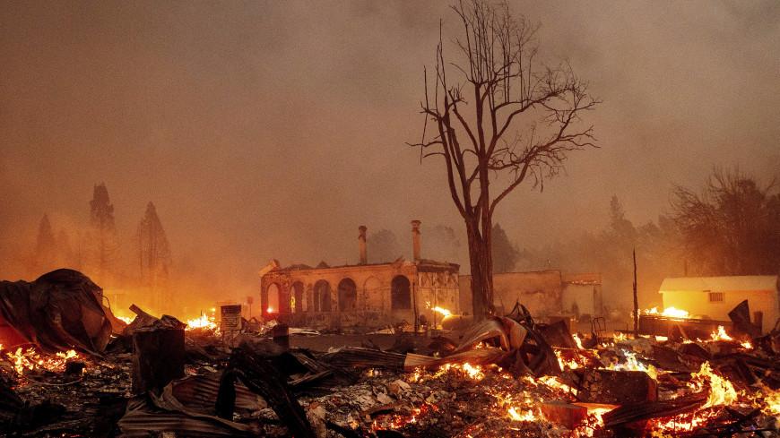 Более 16 тысяч человек покинули свои дома в Калифорнии из-за лесных пожаров