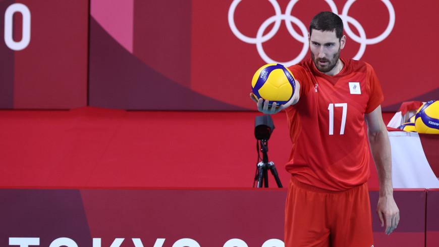 Российские волейболисты вышли в полуфинал олимпийского турнира в Токио