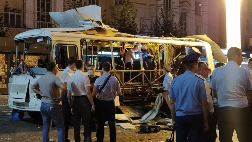 Взрыв в автобусе в Воронеже: рассматриваются несколько версий случившегося