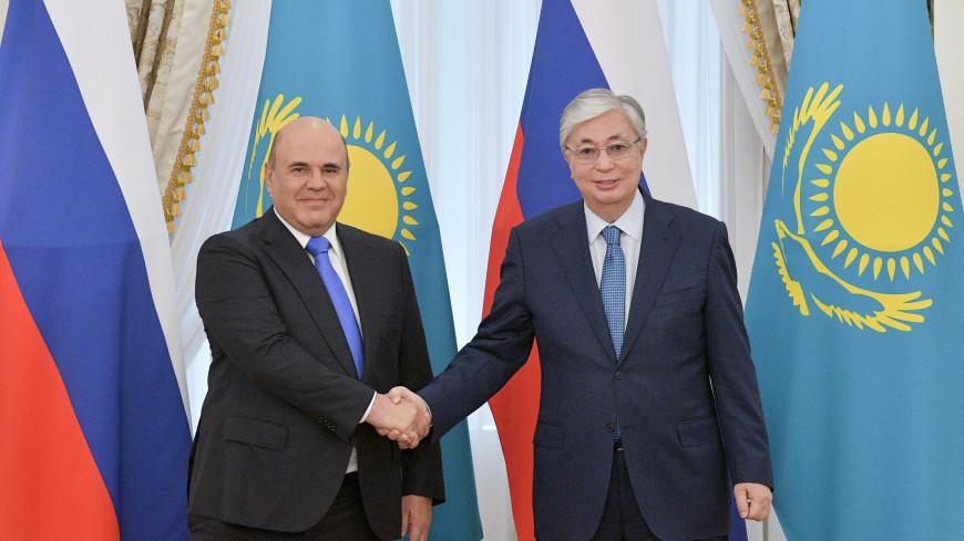 Токаев отметил динамичный рост контактов между Казахстаном и Россией в экономике