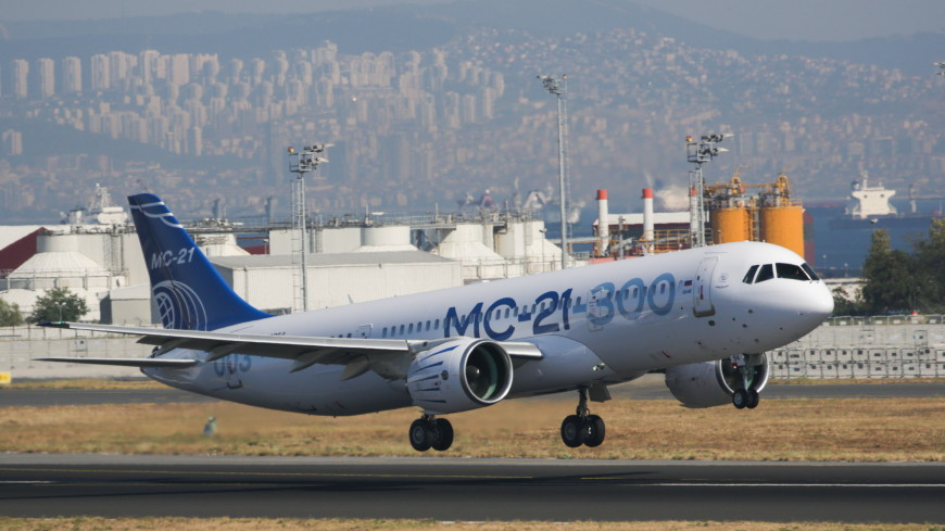 Самолет МС-21 начнет регулярные авиарейсы в 2022 году