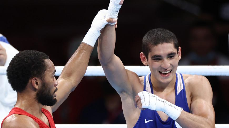 Боксер Батыргазиев принес сборной России 15-е золото на Играх в Токио