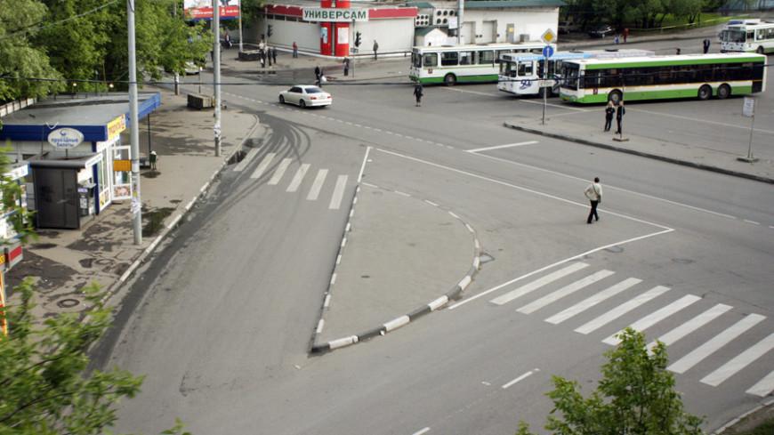 Первый турбокольцевой перекресток появился в Подмосковье