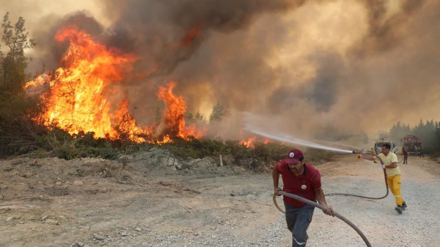 Ответственность за пожары в Турции взяла на себя группировка «Дети огня»