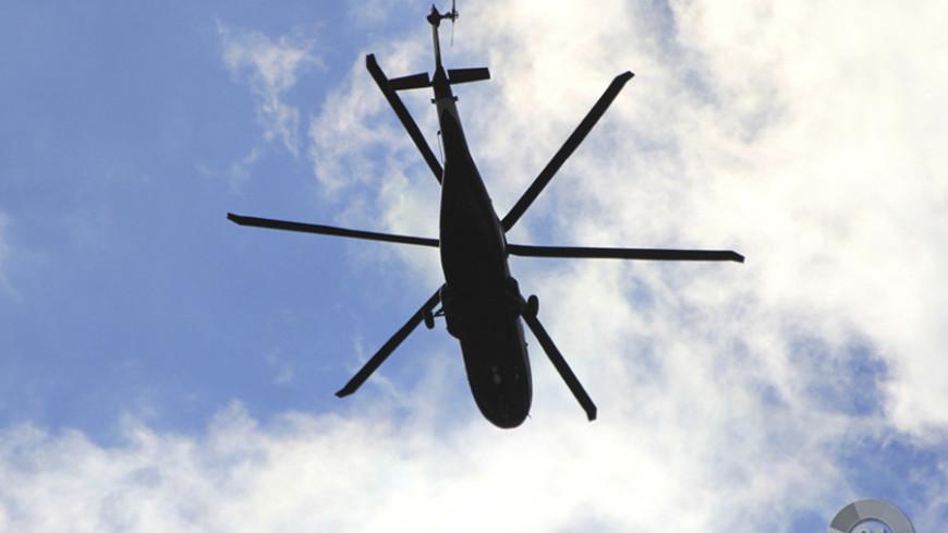 """Фото: """"«МИР 24»"""":http://mir24.tv/, вертолет"""
