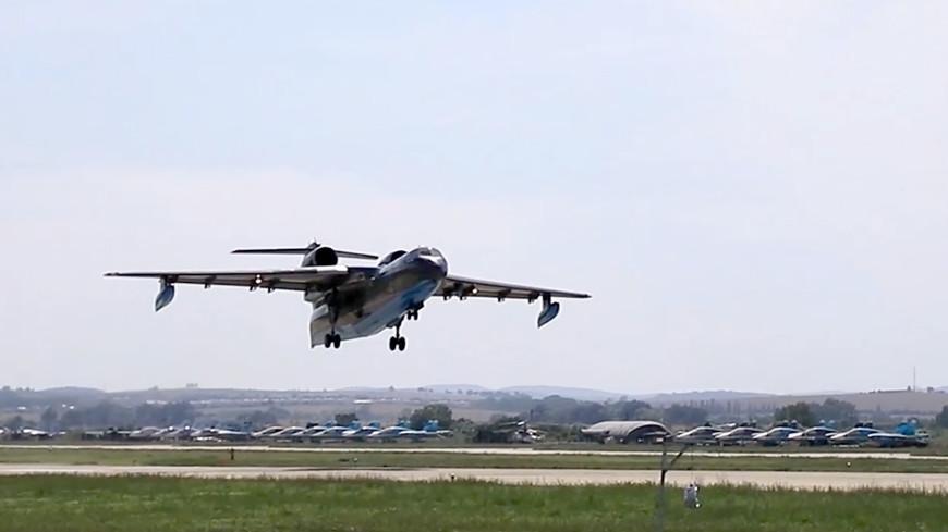 Самолет-амфибия МЧС России будет тушить пожар в «Заповедной Мордовии»