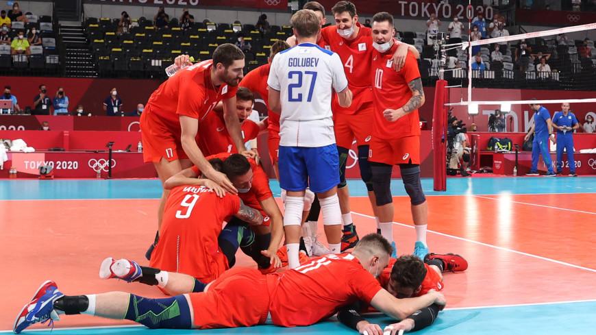 Волейболисты сборной России стали вторыми на Олимпиаде в Токио
