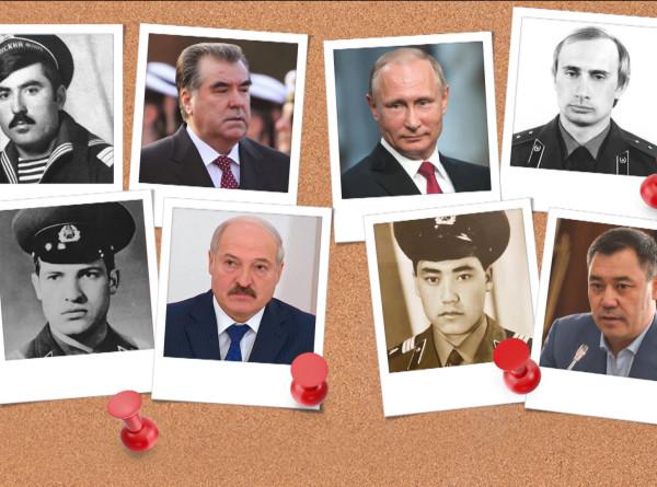 Как служили в Вооруженных силах будущие президенты стран Содружества