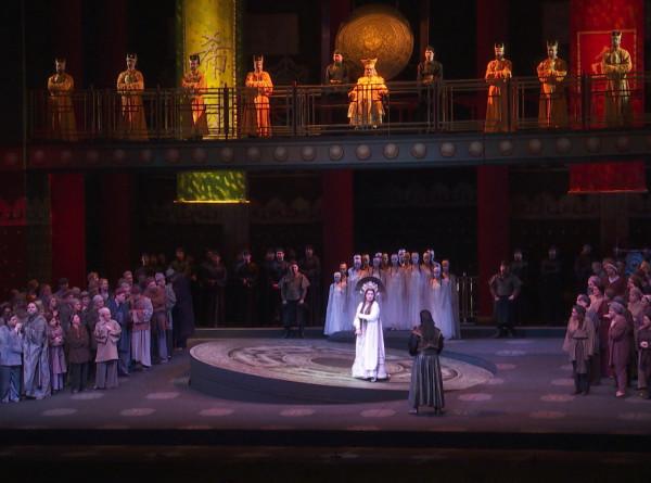 Анна Нетребко и Юсиф Эйвазов исполнили партии из оперы «Турандот» в Мариинке