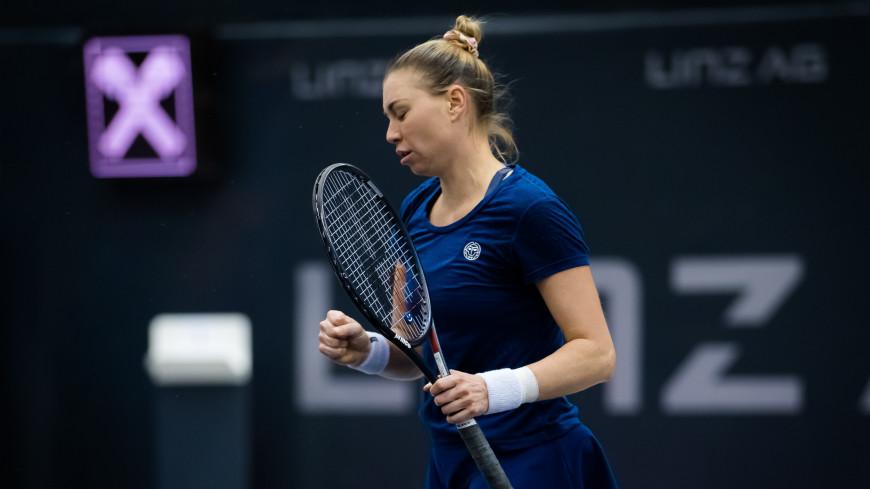 Звонарева проиграла Рыбакиной из Казахстана в первом раунде Australian Open