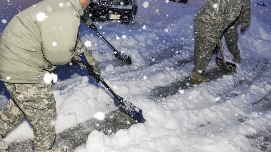"Фото: Army Sgt. Edwin Gray, ""Минобороны США"": http://www.defense.gov/photoessays/photoessayss.aspx?id=4848, погода, снег, снегопад, зима, снегопад в сша, армия сша"