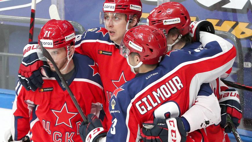 ЦСКА в шестой раз стал победителем Западной конференции КХЛ