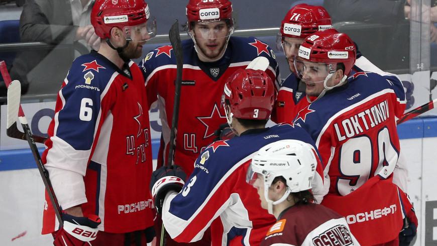 Московское ЦСКА обыграл в овертайме рижское «Динамо» в матче КХЛ