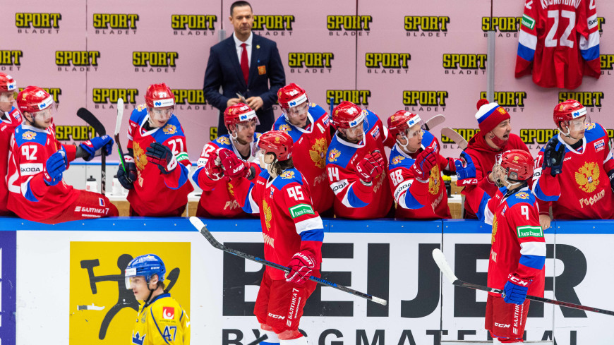 Сборная России по буллитам обыграла Швецию в матче Евротура