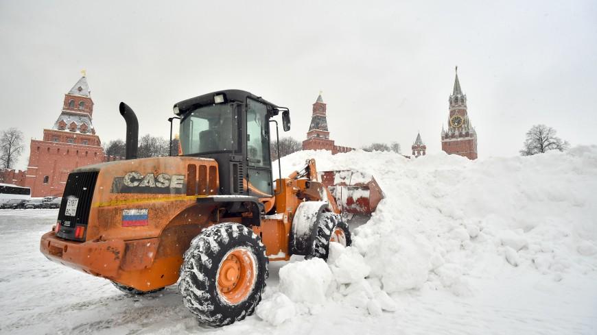 Собянин: В Москве утилизировали после снегопада около 3 млн кубометров осадков