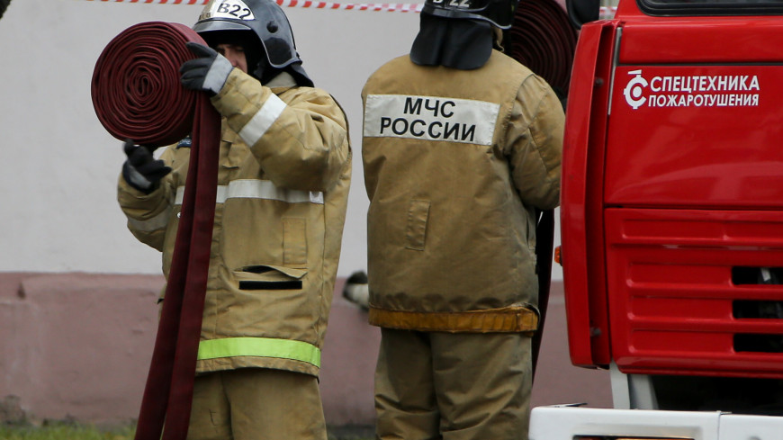 В Самаре в многоквартирном доме произошел пожар