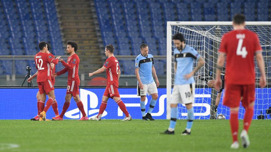 Первые матчи 1/8 финала ЛЧ: «Бавария» разгромила «Лацио», «Челси» одолел «Атлетико»
