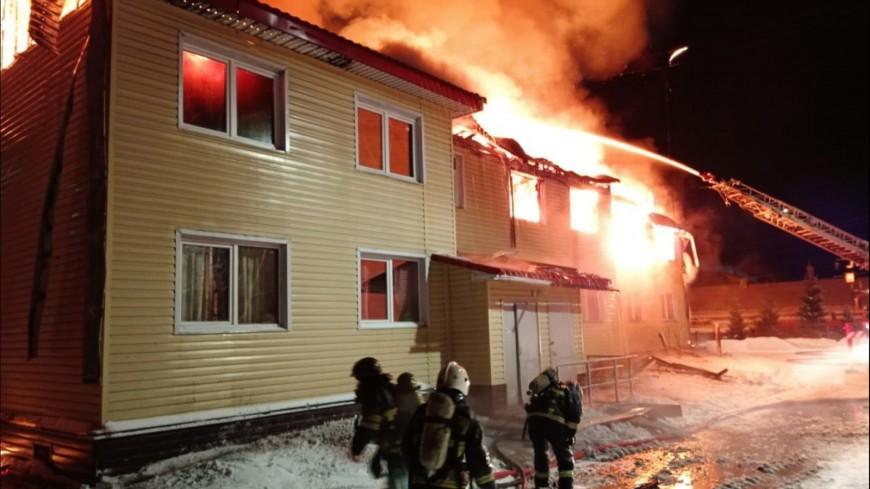Жертвой пожара в жилом доме в Мурманской области стал мужчина