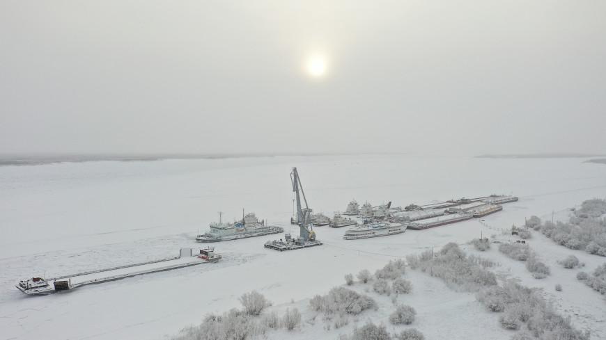 Якутии грозят наводнения из-за обилия льда на реках
