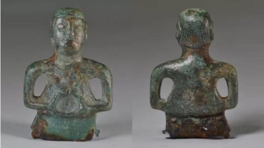 В Англии нашли древнюю статуэтку бога с модной прической
