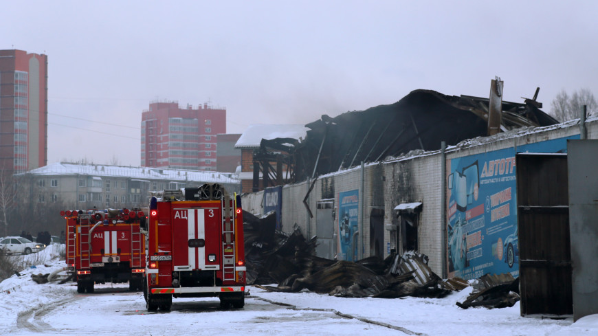 По делу о пожаре в Красноярске, в котором погибли четыре человека, задержаны двое