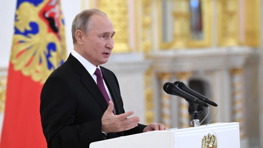 Путин поздравил КамАЗ с 45-летней годовщиной выпуска первого автомобиля