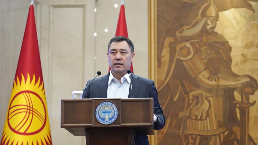 «Особенная весна»: Садыр Жапаров в поздравлении с Наврузом призвал провести референдум по Конституции