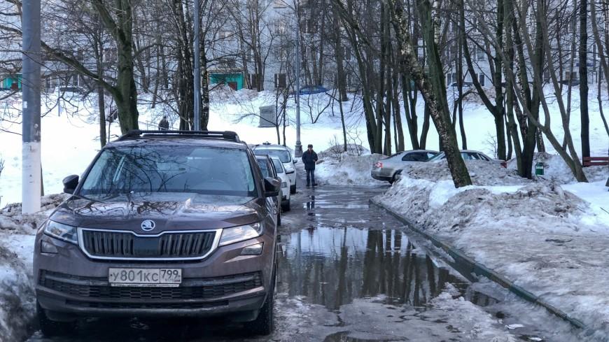 Снег окончательно растает в Москве в середине апреля