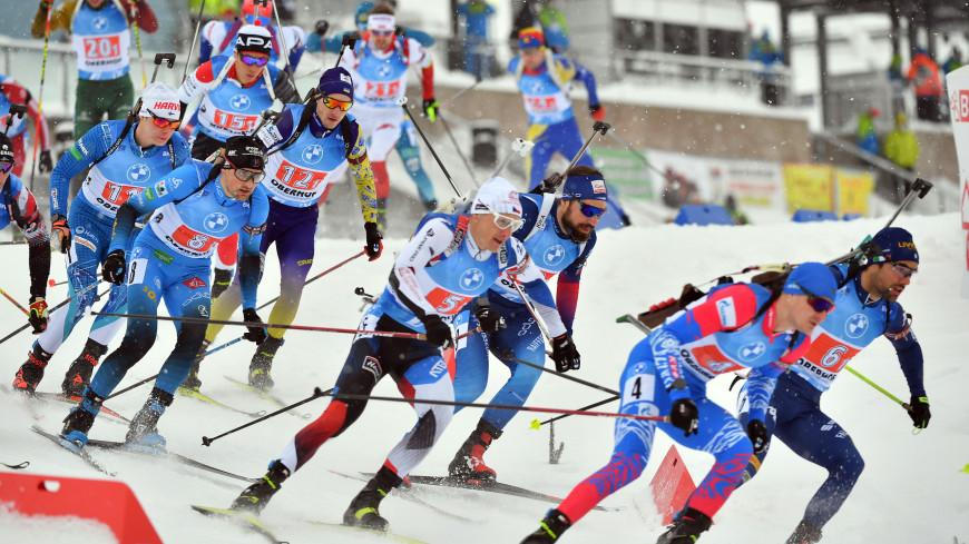 Сборная Норвегии выиграла смешанную эстафету на чемпионате мира по биатлону