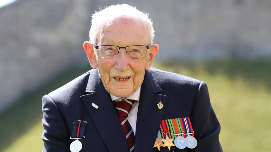 В Британии от COVID-19 умер столетний ветеран Томас Мур, собиравший деньги для медиков
