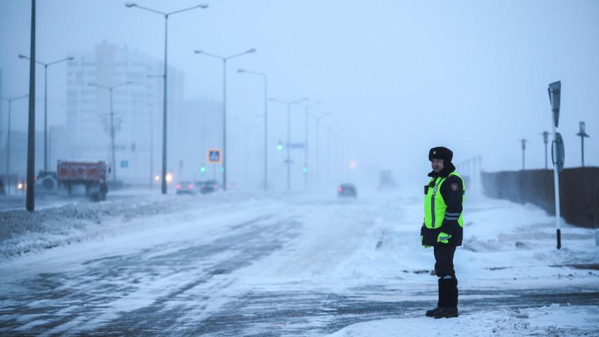 Почти во всех областях Казахстана объявлено штормовое предупреждение