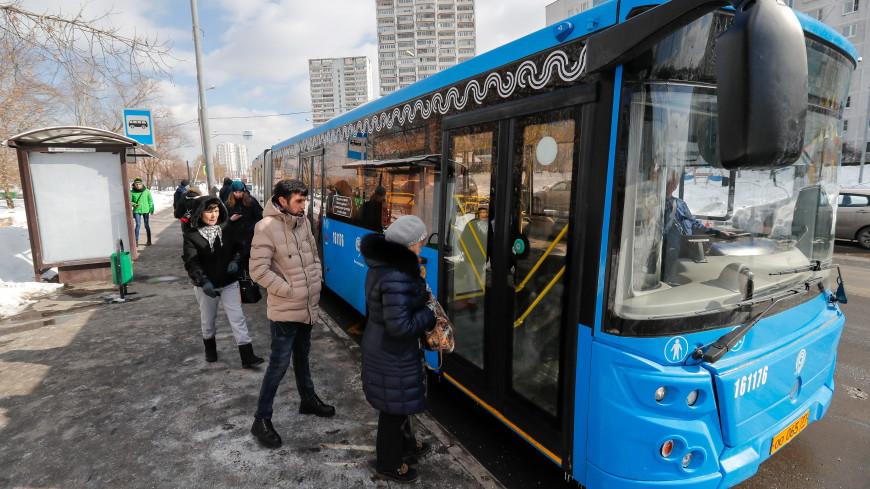 На юге Москвы восстановлено движение автобусов после ДТП