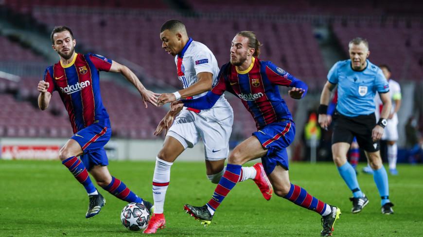 ПСЖ разгромил «Барселону» в первом матче 1/8 финала Лиги чемпионов